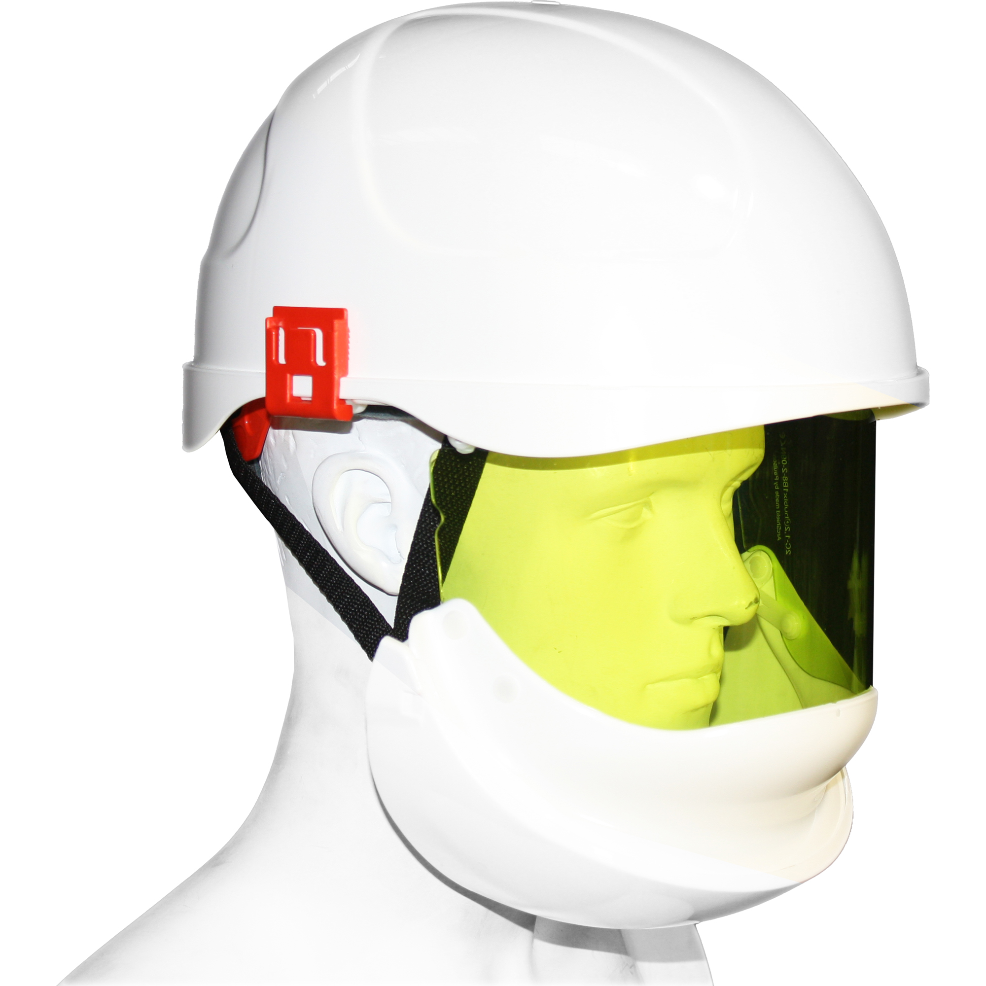 SAFETY HELMET & INTEGRATED VISOR - Class 2