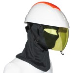 DIELECTRIC HELMET WITH INTEGRATED ARC FLASH FACE SHIELD  – CLASS 2
