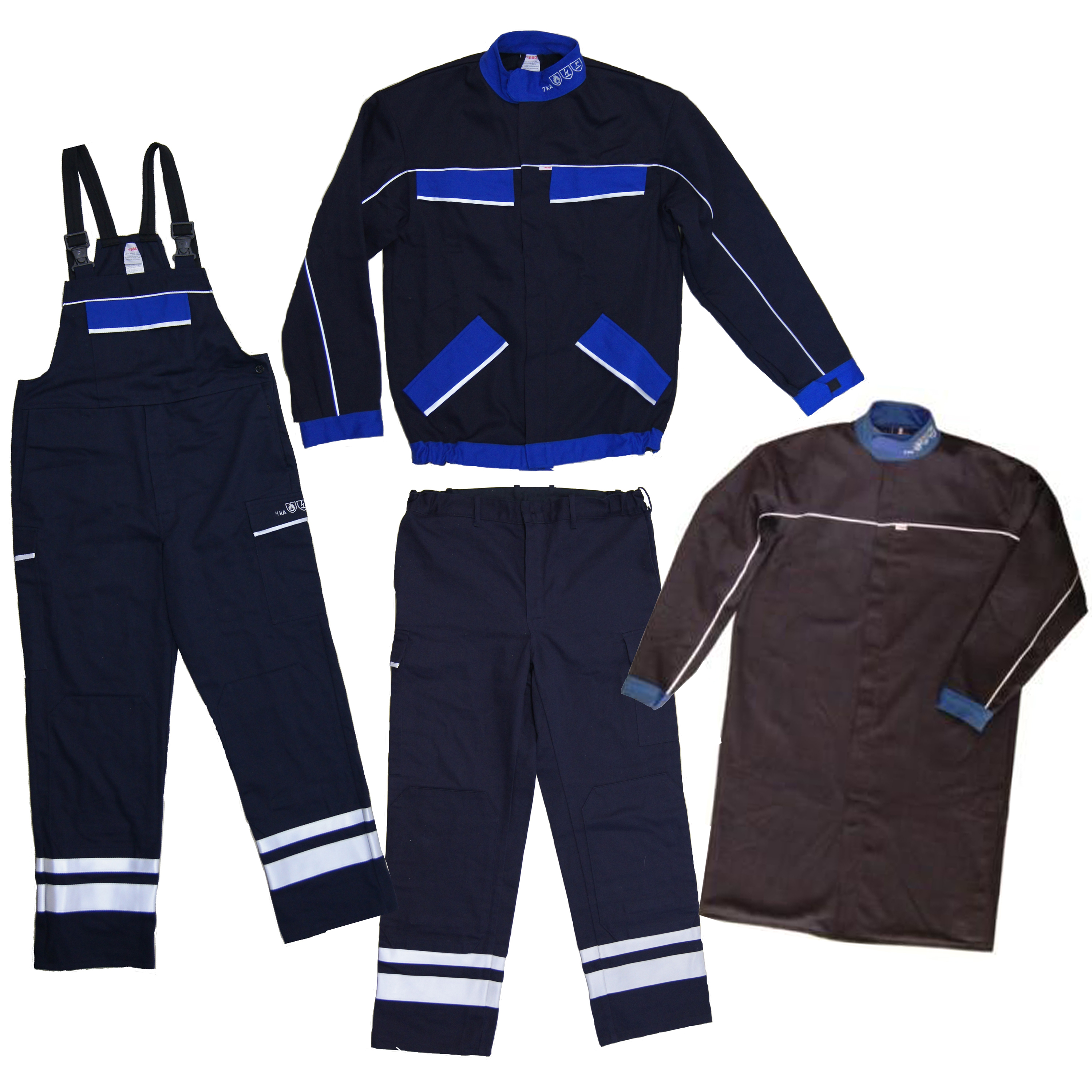 BSD CLASSIC ARC FLASH JACKET, TROUSERS, DUNGAREES AND SWITCHING COAT - 37.7 CAL/CM2