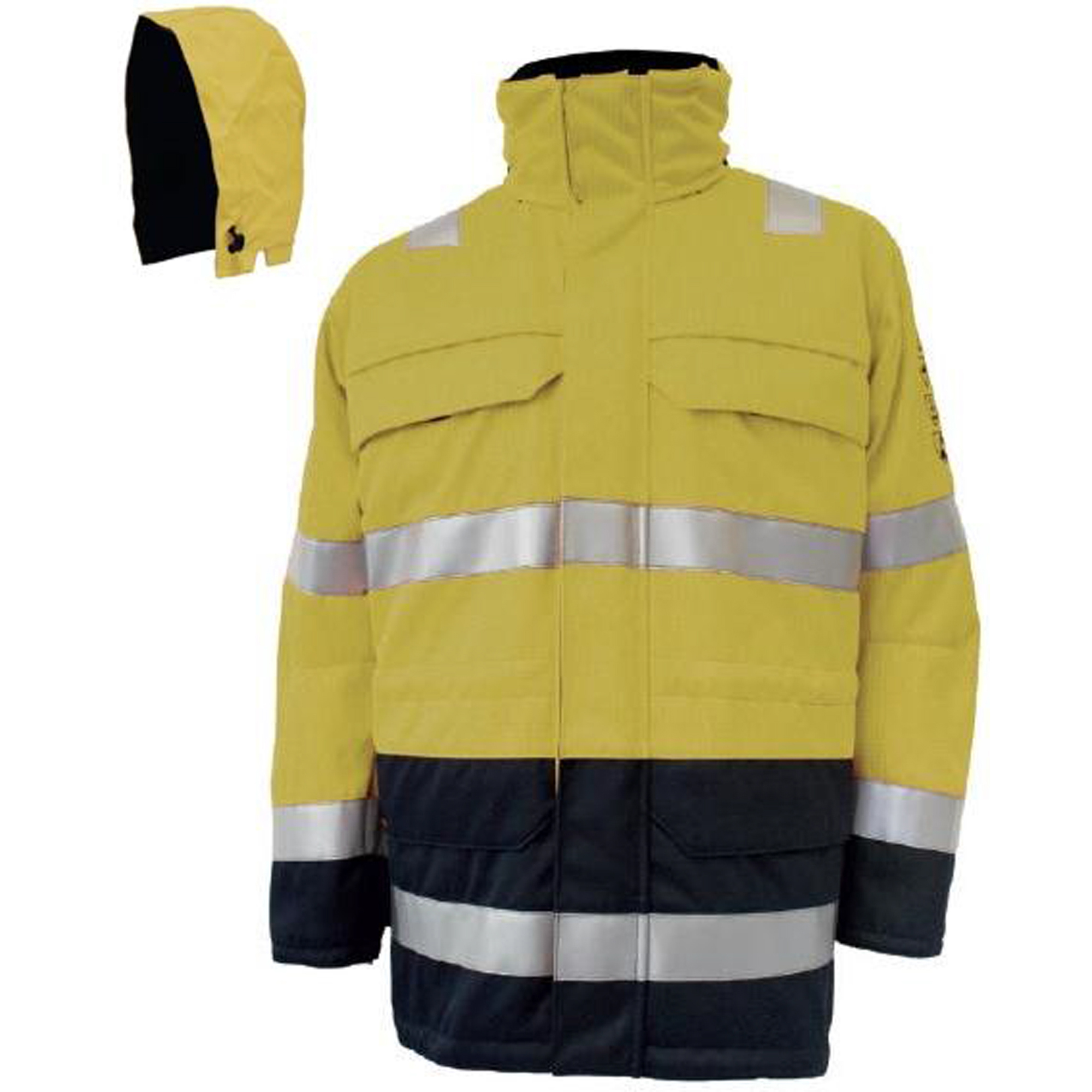BSD SHINE ARC FLASH PARKA JACKET AND HOOD - CLASS 2 (318 KJ)