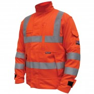 PROGARM 4608 ARC JACKET, HV ORANGE – CLASS 1