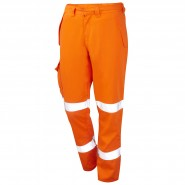 PROGARM 4616 ARC TROUSER, HV ORANGE – CLASS 1