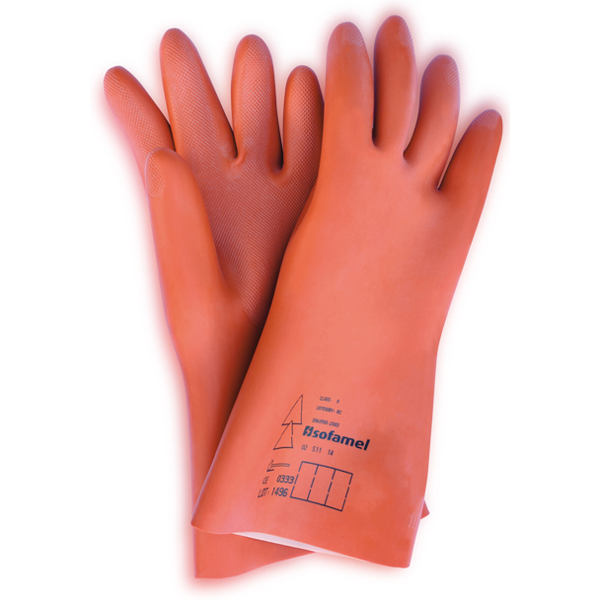 SOFAMEL SGM-50 INSULATED COMPOSITE GLOVES - 61.0 CAL/CM²