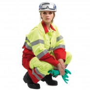 ROOTS MULTI PROTECTOR HI-VIS JACKET AND TROUSERS – Class 1, 10.2 CAL/CM²