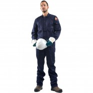 ROOTS FLAMEBUSTER BASIC COVERALL – Class 1, 8.1 CAL/CM²