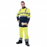ROOTS XTREME HI-VIS JACKET AND TROUSERS – Class 1, 9.6 CAL/CM²