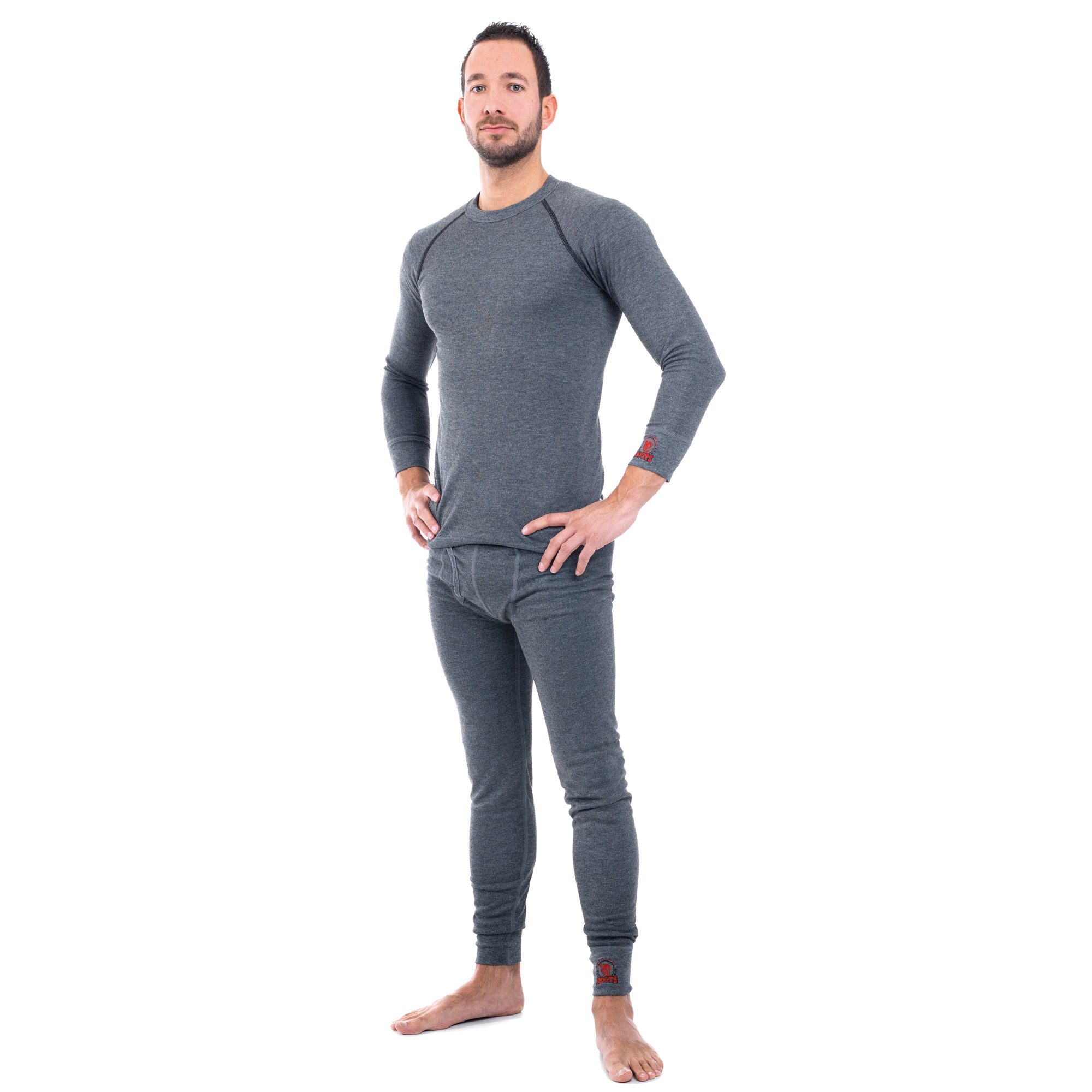 ROOTS ARC RATED MEN'S UNDERWEAR SHIRT LONG SLEEVE AND LONG JOHNS - 4.8 CAL/CM²