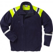FRISTADS Fleece Jacket 4073 ATF Dark Navy &#8211; Class 1, 6.9 cal/cm<sup>2</sup>