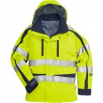 FRISTADS GORE-TEX Jacket cl 3 4089 GXH Hi-Vis Yellow/Navy - Class 2, 29.6 cal/cm<sup>2</sup>