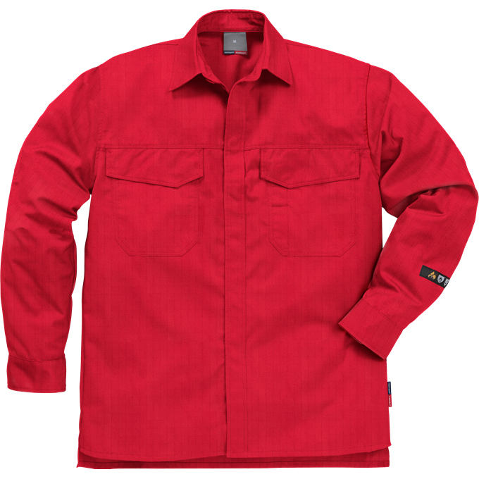 FRIS 7200 - FRISTADS Shirt 7200 ATSS Red