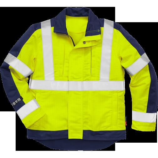 Flame high vis jacket cl 3 4846 FBPA