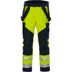 FRISTADS GORE-TEX Flamestat Trousers Hi-Vis cl 2 2095 GXE Yellow/Navy - Class 2, 49.1 cal/cm²