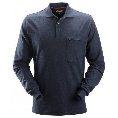 Protecwork Long Sleeve Polo Shirt