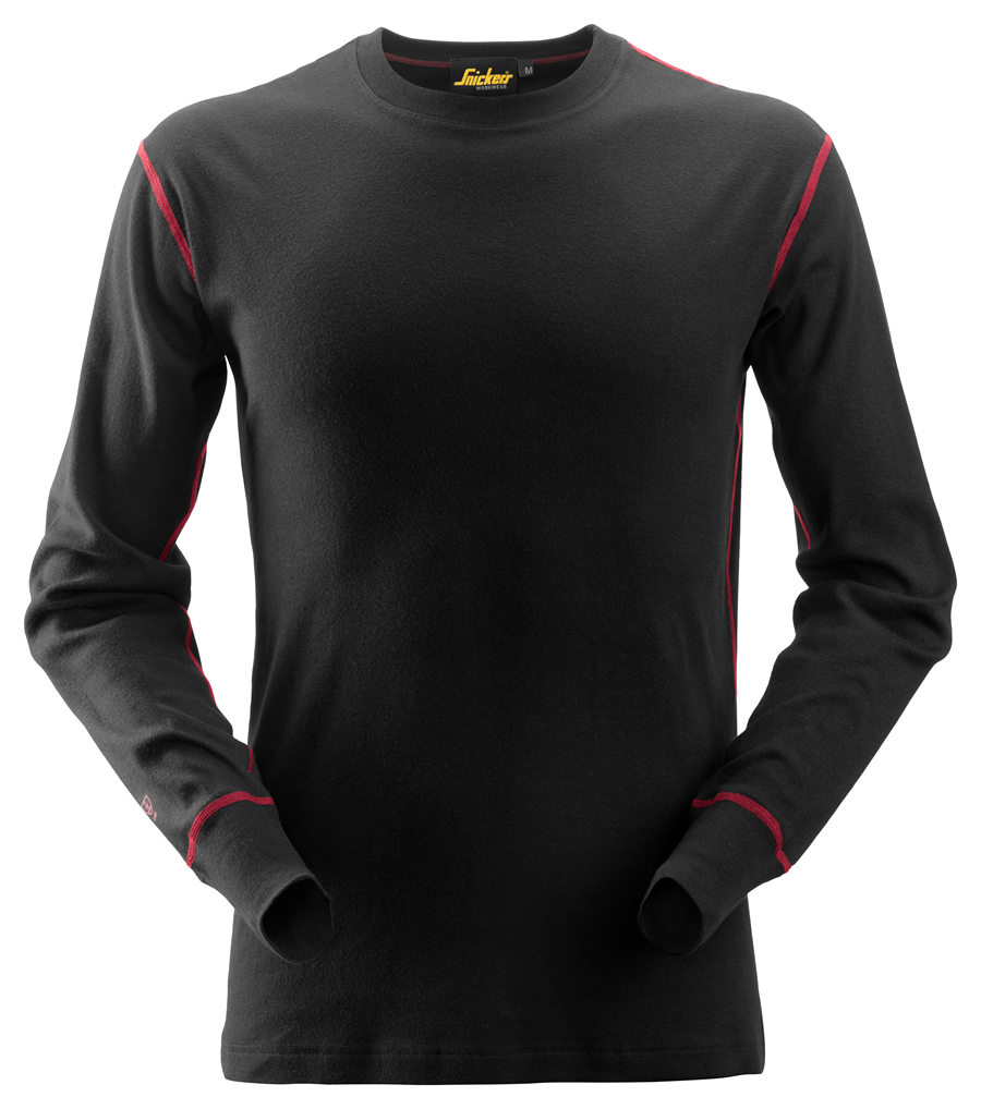 Snickers Workwear ProtecWork Long Sleeve Crew Neck Shirt